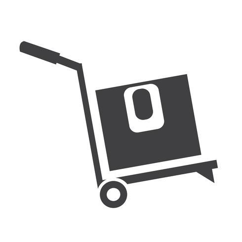 vak Logistiek pictogram vector