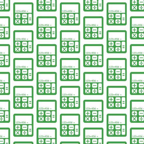 rekenmachine patroon achtergrond vector
