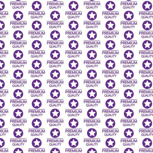 Patroonachtergrond Premiumkwaliteitspictogram vector