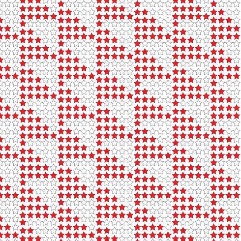 Patroon achtergrond favoriete sterpictogram vector