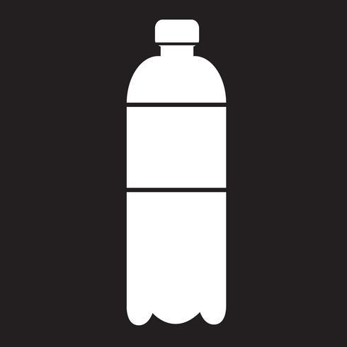 waterfles pictogram vector