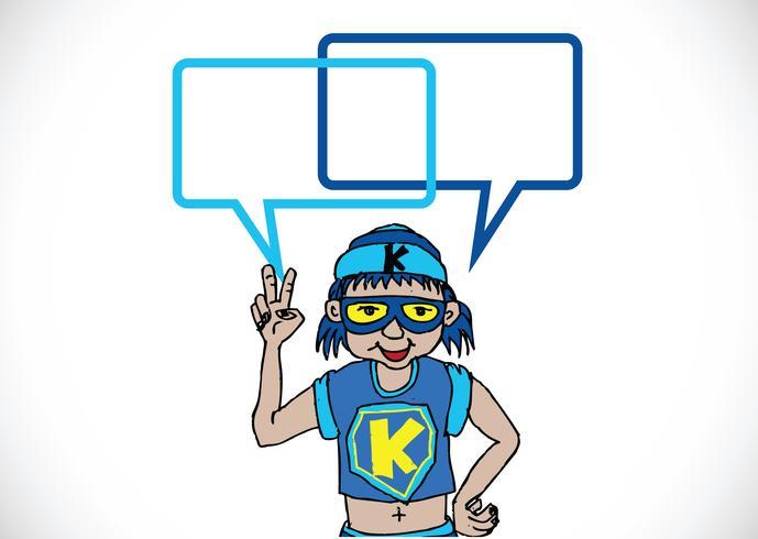 Mensen denken en mensen praten met dialoog tekstballonnen vector