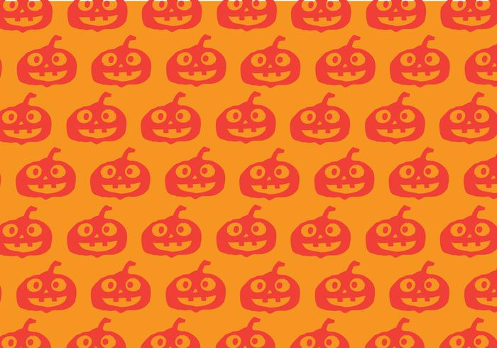 Halloween pompoen achtergrond vector