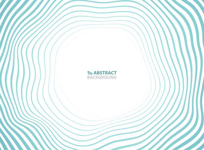 Abstracte zee golven patroon cirkel presentatie achtergrond. U kunt gebruiken voor advertentie, poster, hoesontwerp, reiscampagne, jaarverslag. vector