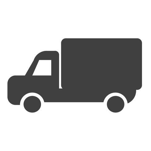 Auto vrachtwagen pictogram vector