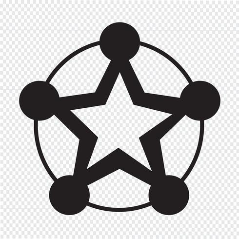 Netwerk pictogram symbool teken vector