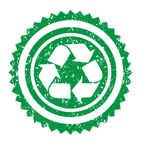 Recycle teken symbool teken vector