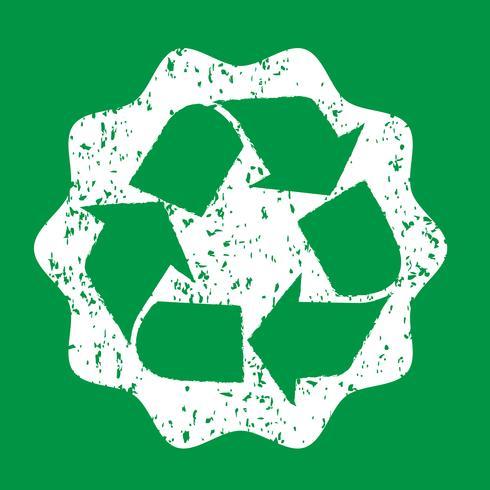 Recycle teken symbool teken vector