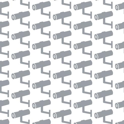 CCTV pictogram patroon achtergrond vector