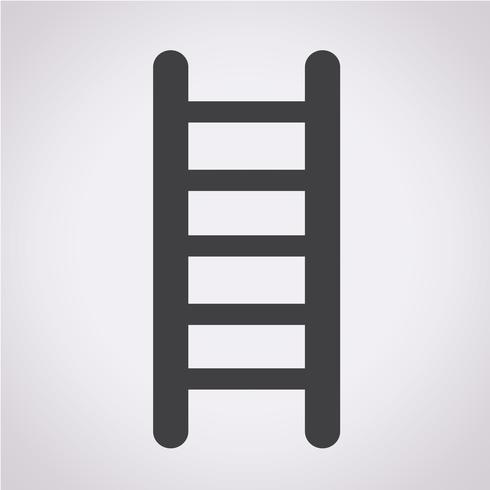 ladder pictogram symbool teken vector