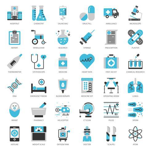 Gezondheidszorg en medisch vector