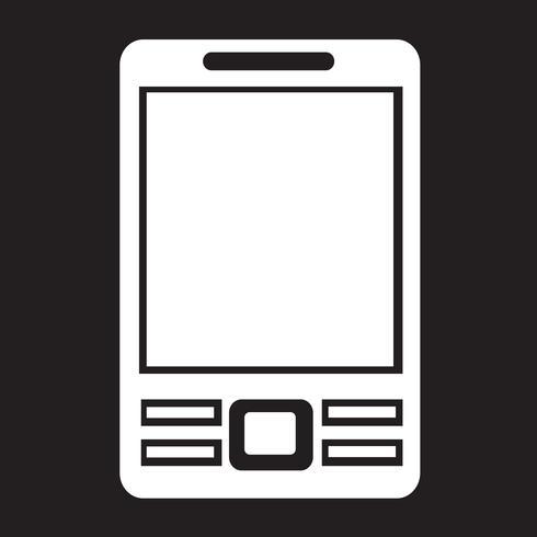 Mobiele telefoon pictogram vector