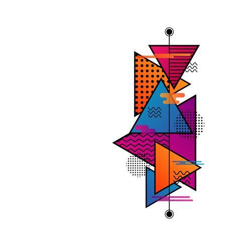 minimaal hipsterpatroon vector