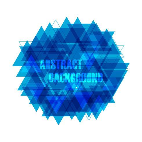 abstracte driehoeksachtergrond vector