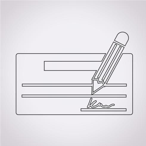 selectievakje pictogram symbool teken vector