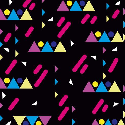 kleur geometrisch figuurontwerp als achtergrond vector