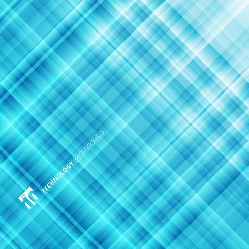 Abstracte lichtblauwe technologieachtergrond. Digitaal fractal patroon. vector