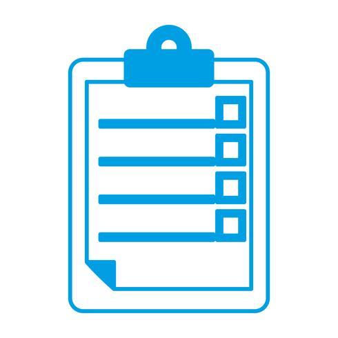 rapport tabel pictogram vector