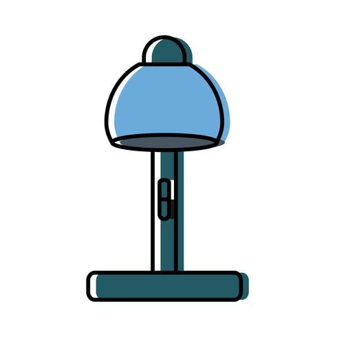 bureaulamp pictogram vector