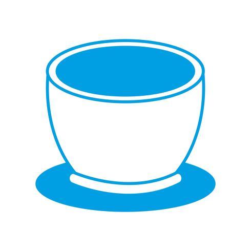 koffie mok pictogram vector