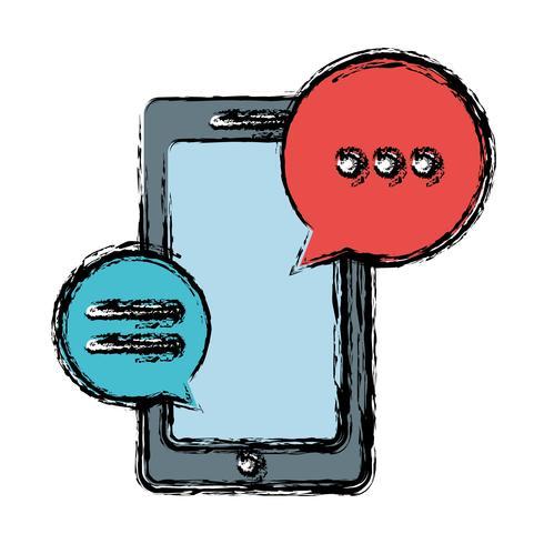 smartphone apparaatpictogram vector