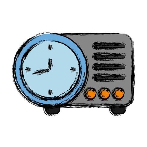afbeelding klokpictogram vector