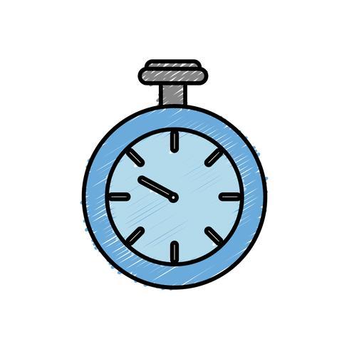 chronometer pictogramafbeelding vector
