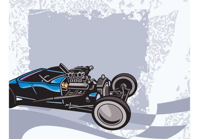 Raceauto grafieken vector