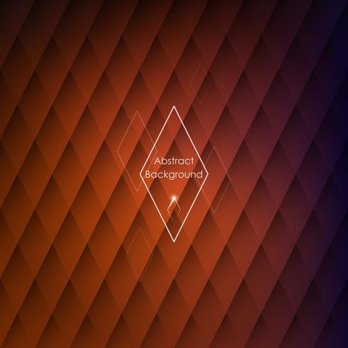 Abstracte rhombic oranje achtergrond voor uw ontwerpen. vector