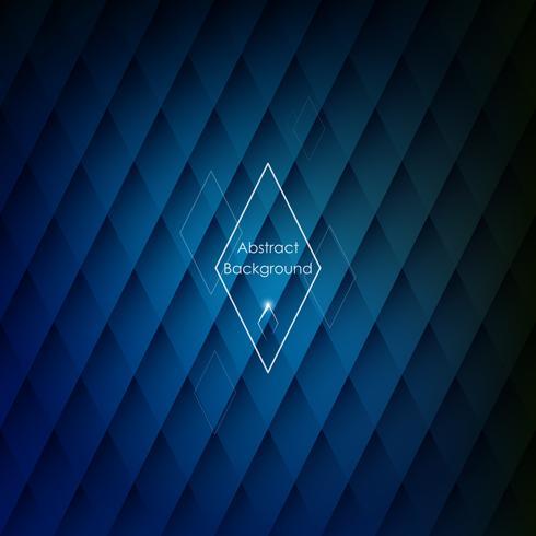 Abstracte ruitvormige blauwe achtergrond voor uw ontwerpen. vector