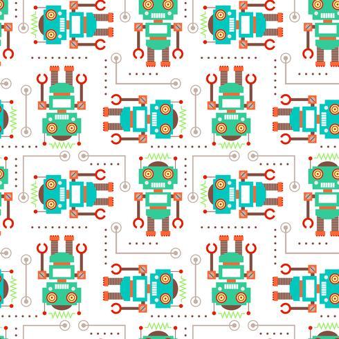 Naadloze patroonachtergrond vector