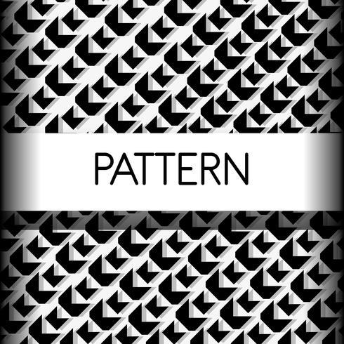 geometrisch naadloos abstract ontwerp als achtergrond vector