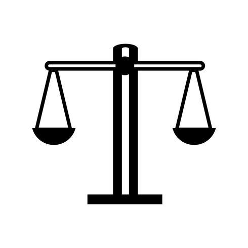 contourbalans kilogram instrumentobjectontwerp vector