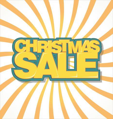 Kerst verkoop achtergrond vector