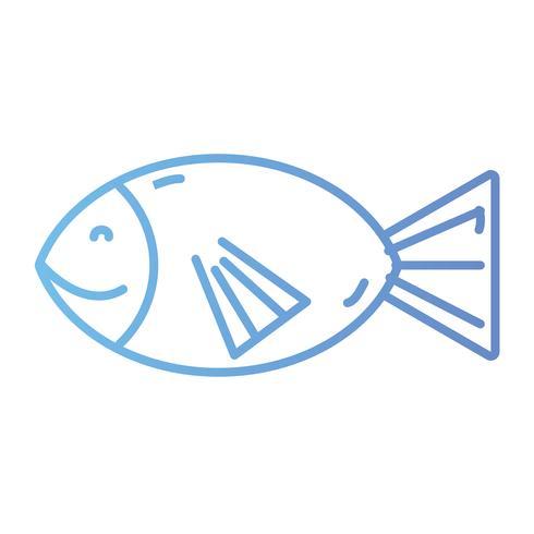 lijn visvoer voeding voer vector