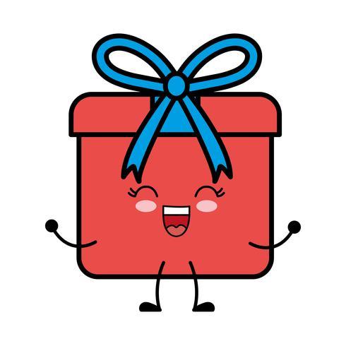 geschenkdoos pictogram vector