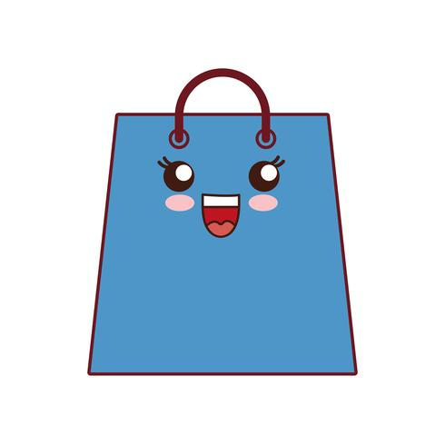 boodschappentas pictogram vector