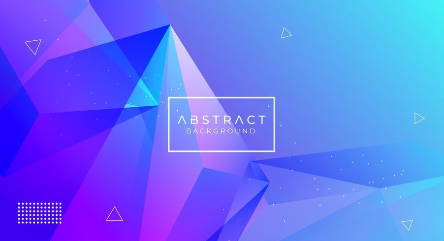 Moderne abstracte veelhoekige achtergrond vector