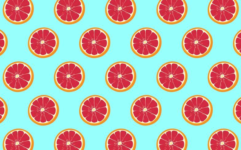 Grapefruit Patroon vector