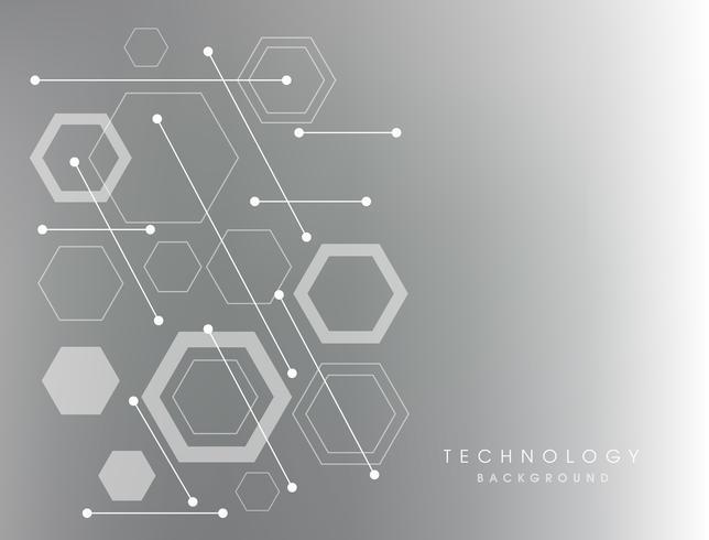Abstracte achtergrond met witte vormen vector