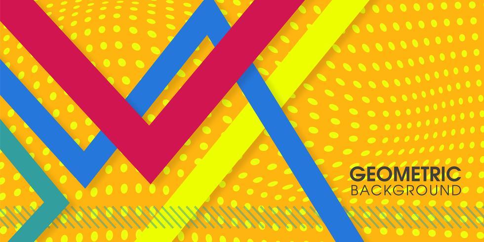 Lijnen abstracte achtergrond vector