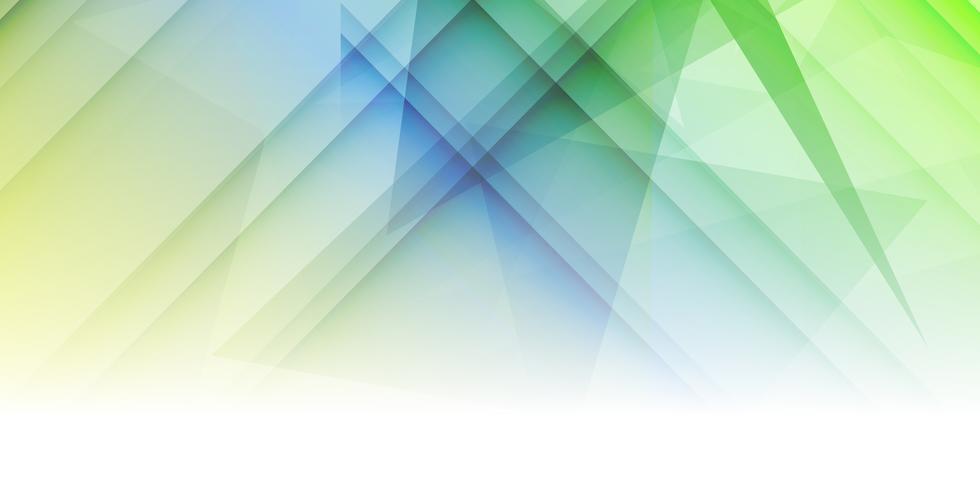 Abstract bannerontwerp vector