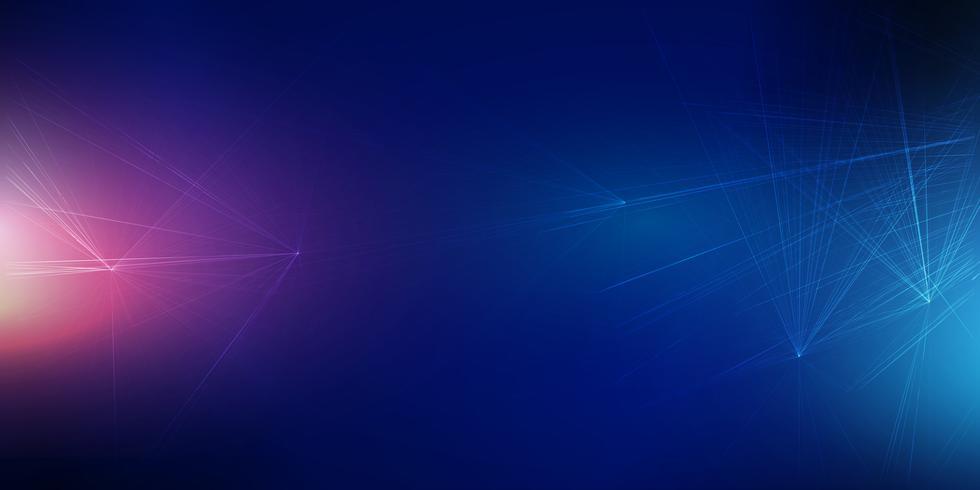 Techno bannerontwerp vector
