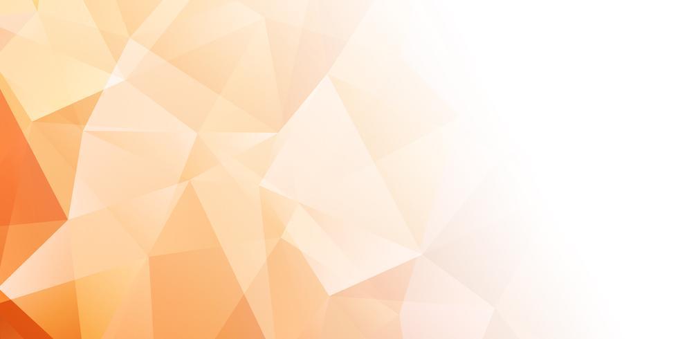 Bannerachtergrond met laag polyontwerp vector