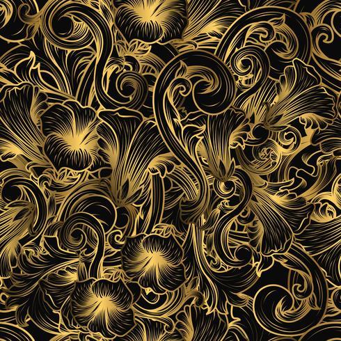 Luxe naadloos patroon vector
