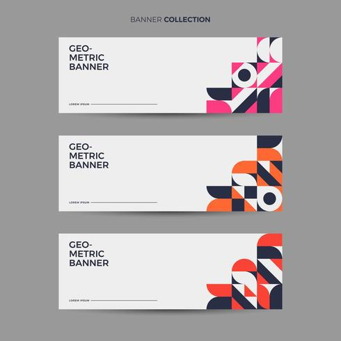 Retro Banner Collectie vector