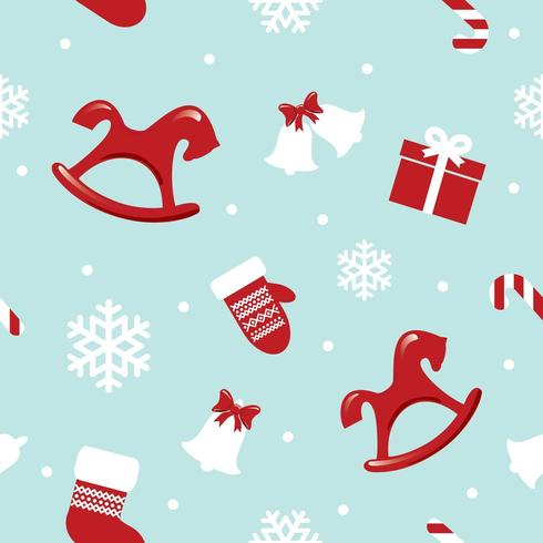 Kerstmis en Nieuwjaar patroon vector