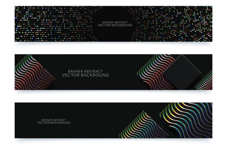 Banner achtergrond vector