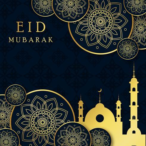 Abstracte Ramadan islamitische achtergrond vector