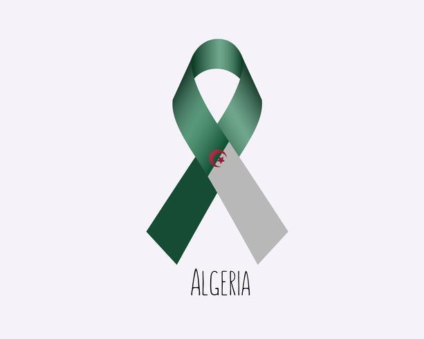 Rouw Algerije vector